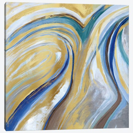 Agate & Gold I Canvas Print #NAN26} by Nan Canvas Art