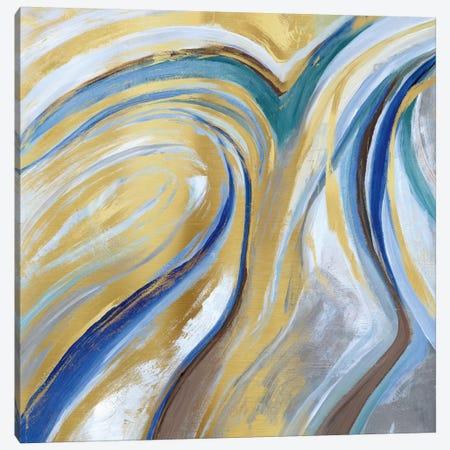 Agate & Gold I Canvas Print #NAN26} by Nan Canvas Art