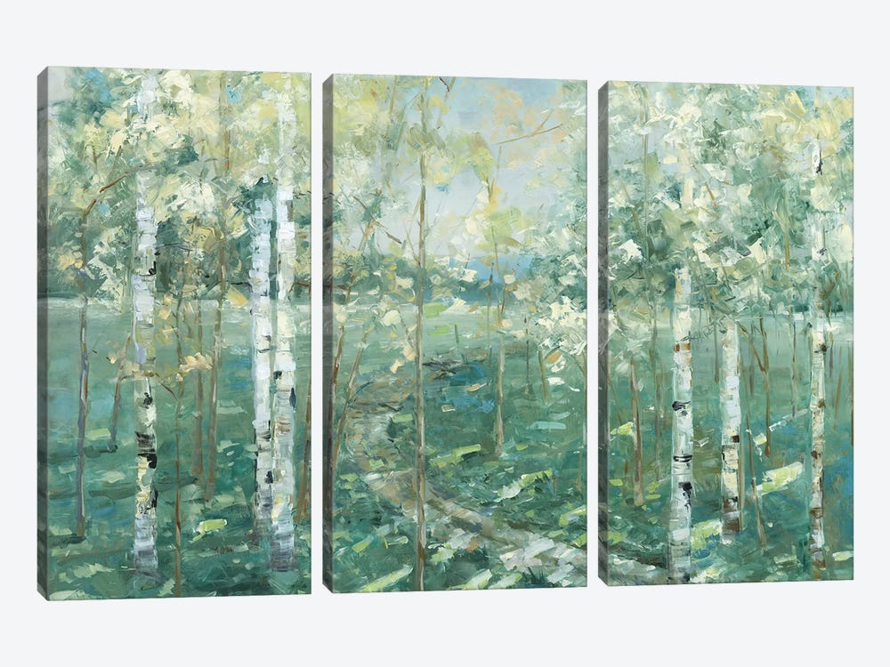Meadow Light by Sally Swatland 3-piece Canvas Artwork