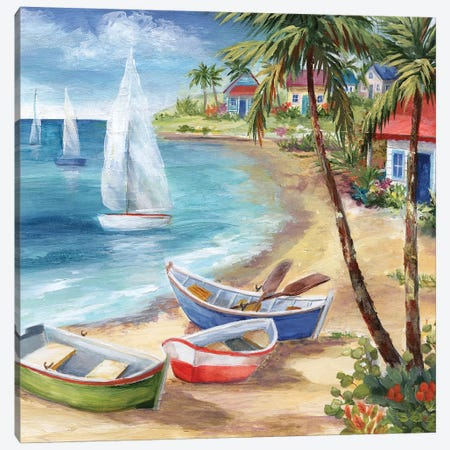 Antiqua Holiday Canvas Print #NAN275} by Nan Canvas Wall Art
