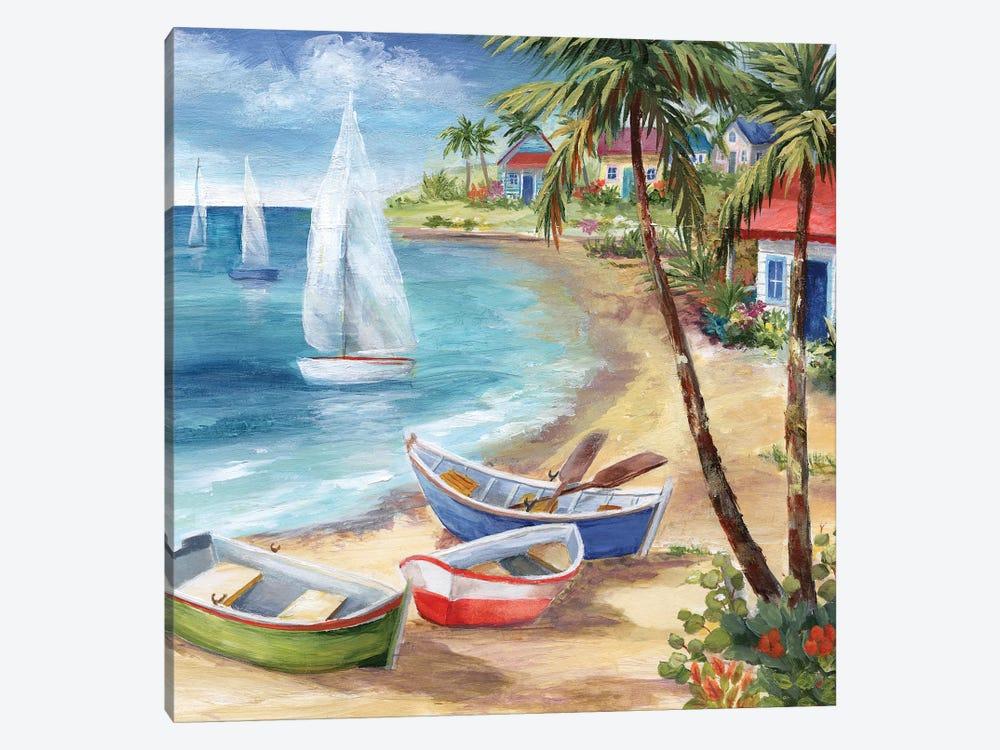 Antiqua Holiday by Nan 1-piece Canvas Print