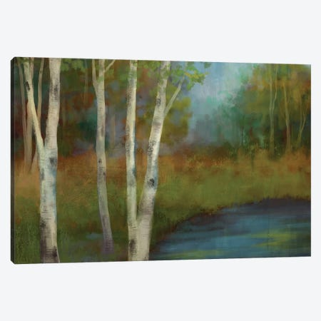 Beside The Still Waters Canvas Print #NAN277} by Nan Canvas Artwork