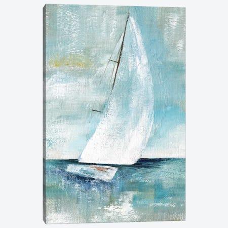 Come Sailing I 3-Piece Canvas #NAN284} by Nan Canvas Print