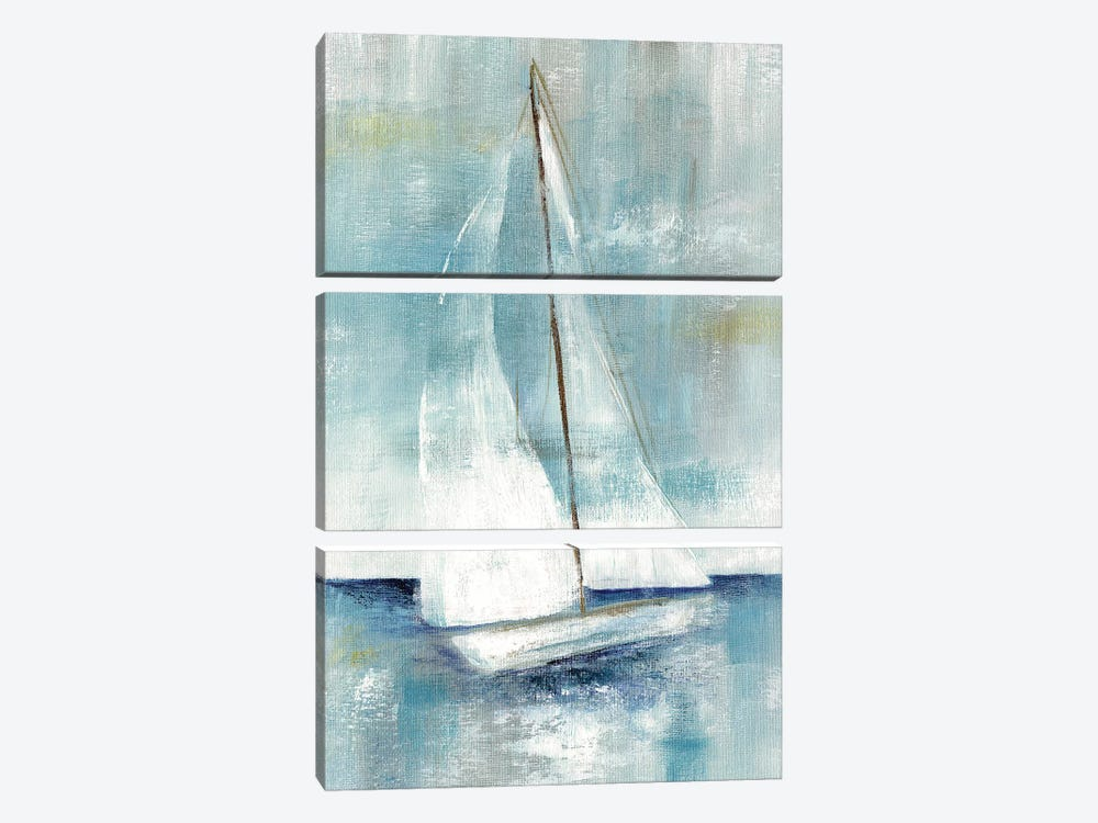 Come Sailing II by Nan 3-piece Canvas Art
