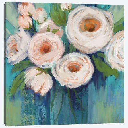Flower Power 3-Piece Canvas #NAN291} by Nan Art Print