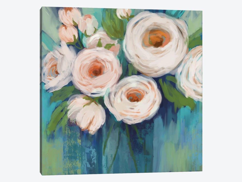 Flower Power by Nan 1-piece Canvas Art Print