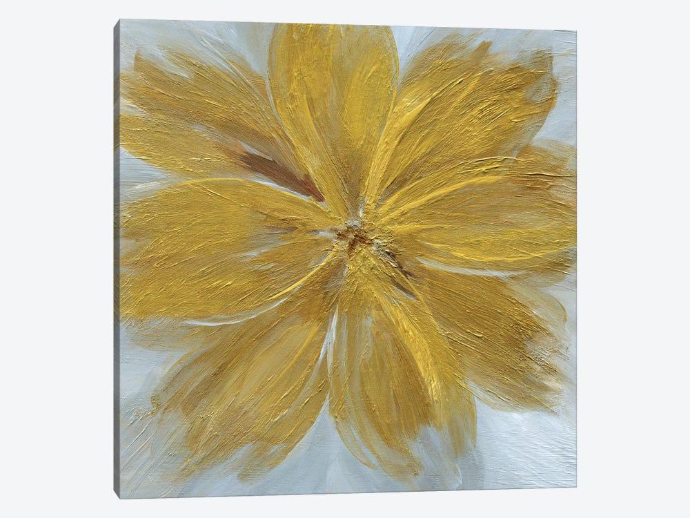 Golden Blue by Nan 1-piece Canvas Artwork