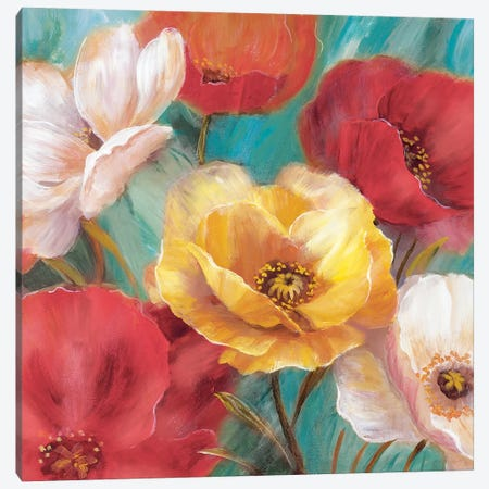 Jardin De Primavera Canvas Print #NAN294} by Nan Canvas Artwork