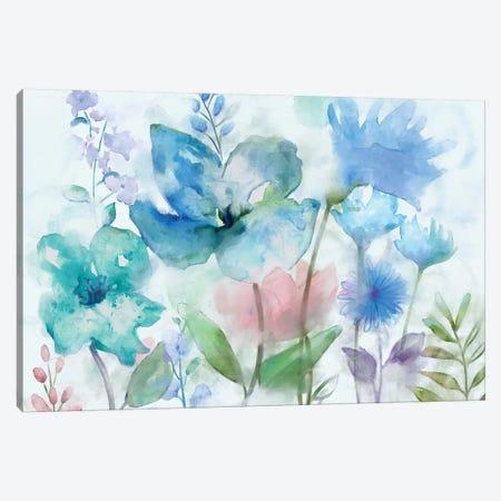 Mingled Blues Canvas Print #NAN297} by Nan Canvas Art