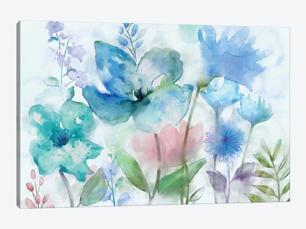 Mingled Blues by Nan 1-piece Canvas Art Print