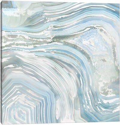 Agate in Blue II Canvas Art Print