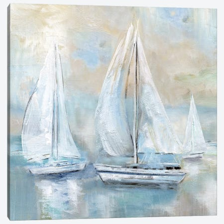 Sail Afar 3-Piece Canvas #NAN301} by Nan Art Print