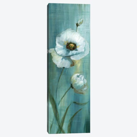 Seabreeze Poppy I Canvas Print #NAN302} by Nan Art Print