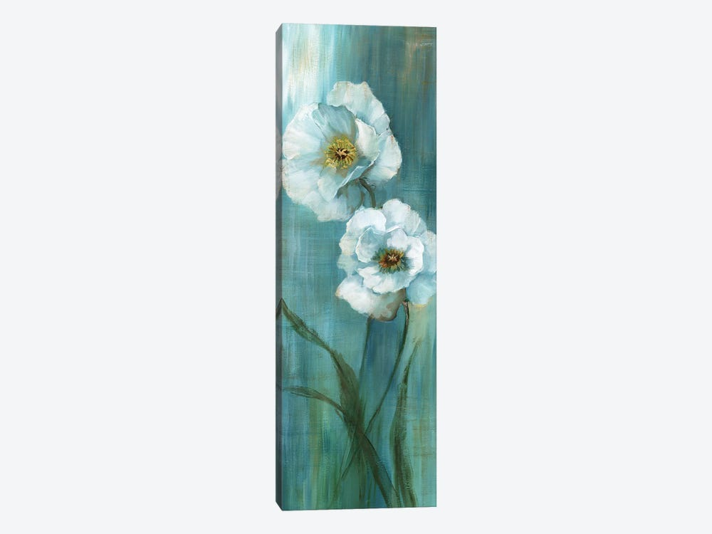 Seabreeze Poppy II by Nan 1-piece Canvas Print