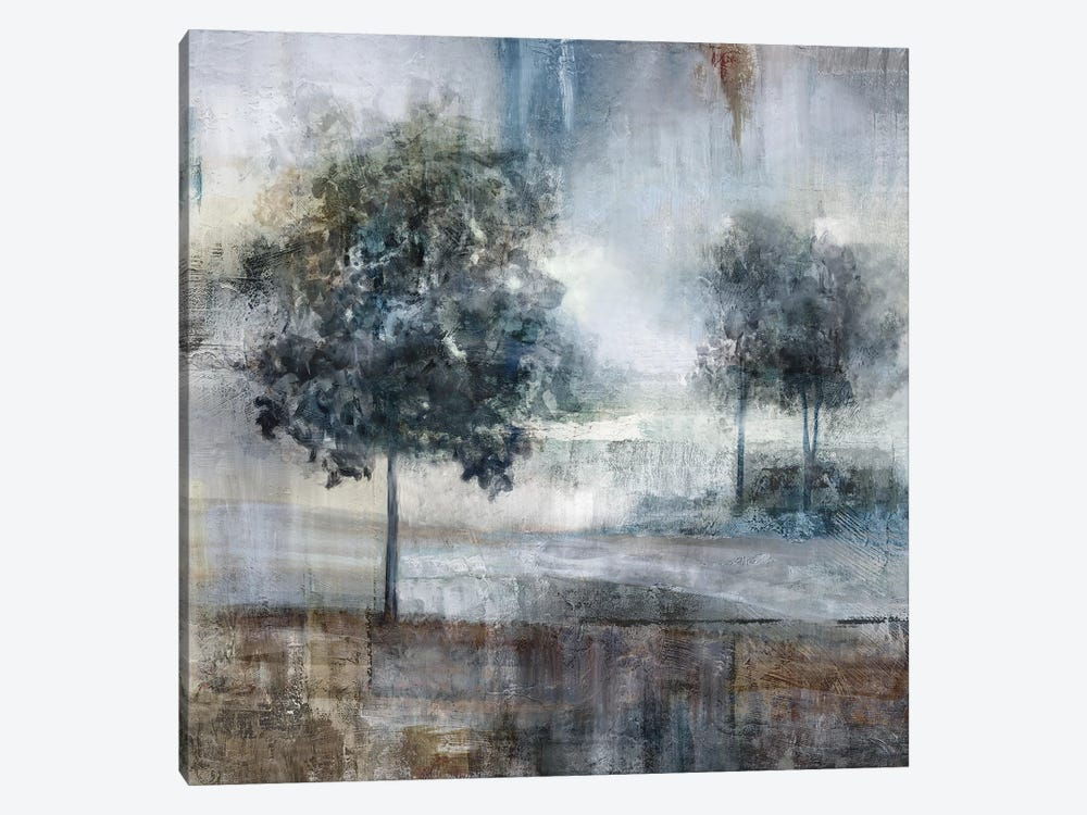 Shades Of Gray by Nan 1-piece Canvas Wall Art