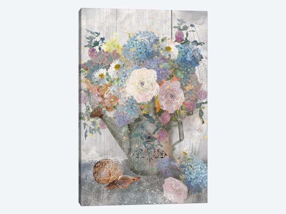 Bucket Of Flowers II by Nan 1-piece Art Print