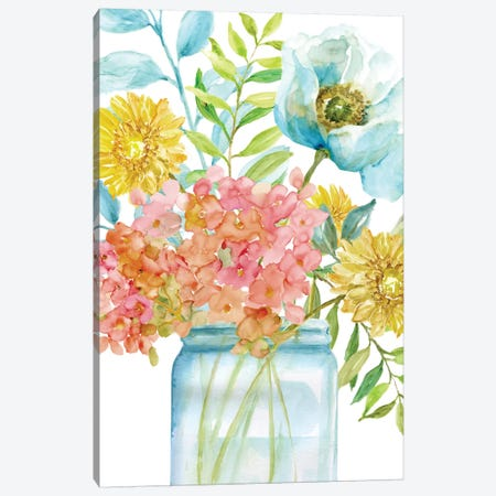 Summer Fresh II Canvas Print #NAN310} by Nan Canvas Art