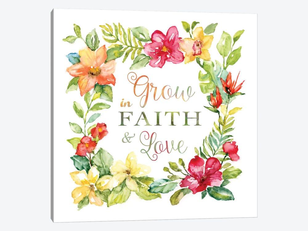 Tropic Faith Wreath by Nan 1-piece Art Print