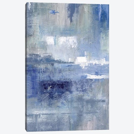 Bay View Indigo 3-Piece Canvas #NAN320} by Nan Canvas Art Print