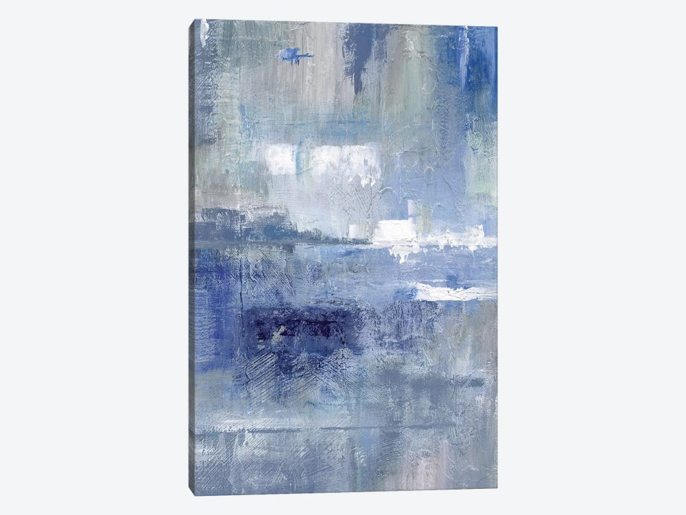 Bay View Indigo by Nan 1-piece Canvas Art