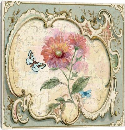 Classical Flower III Canvas Print #NAN32