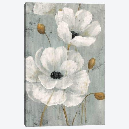 Pearl Garden I 3-Piece Canvas #NAN337} by Nan Art Print