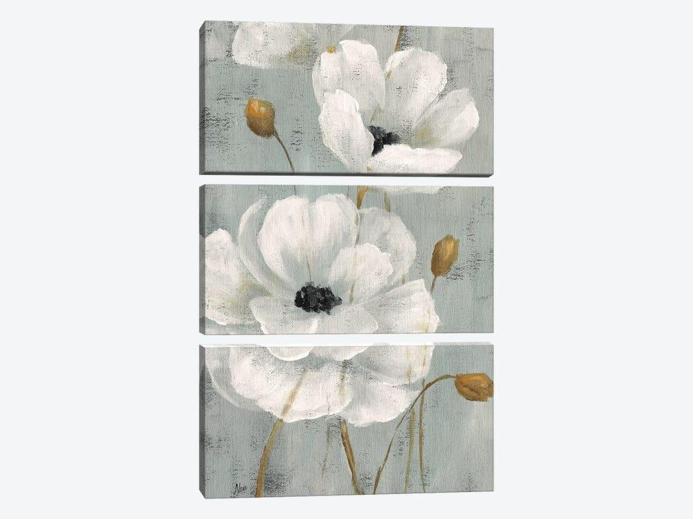 Pearl Garden I by Nan 3-piece Canvas Artwork
