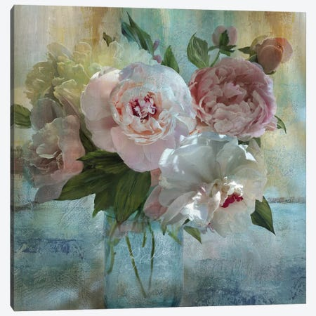 Peony Bouquet I Canvas Print #NAN339} by Nan Canvas Wall Art