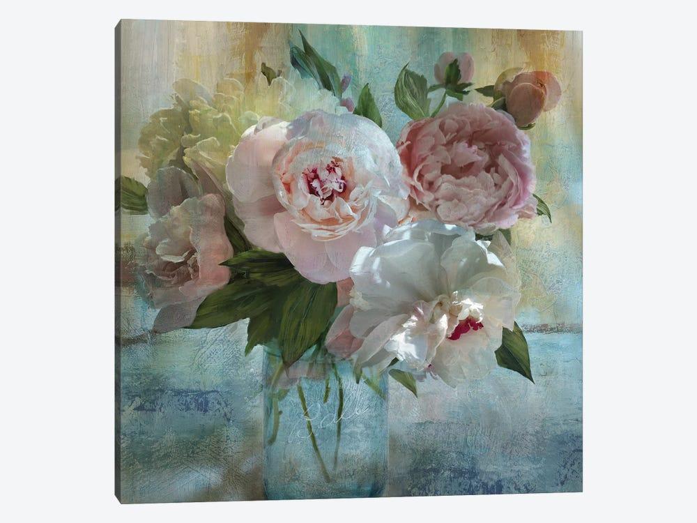 Peony Bouquet I by Nan 1-piece Canvas Art
