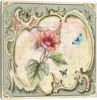 Classical Flower IV Canvas Print #NAN33