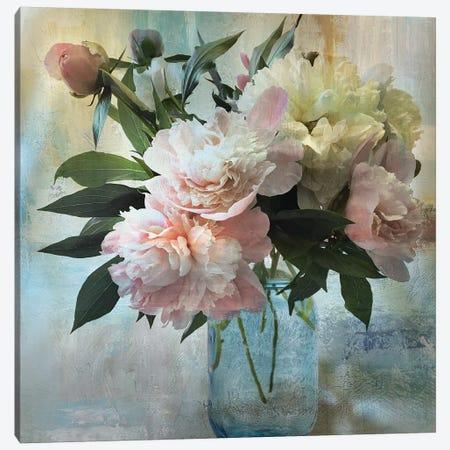 Peony Bouquet II Canvas Print #NAN340} by Nan Canvas Print
