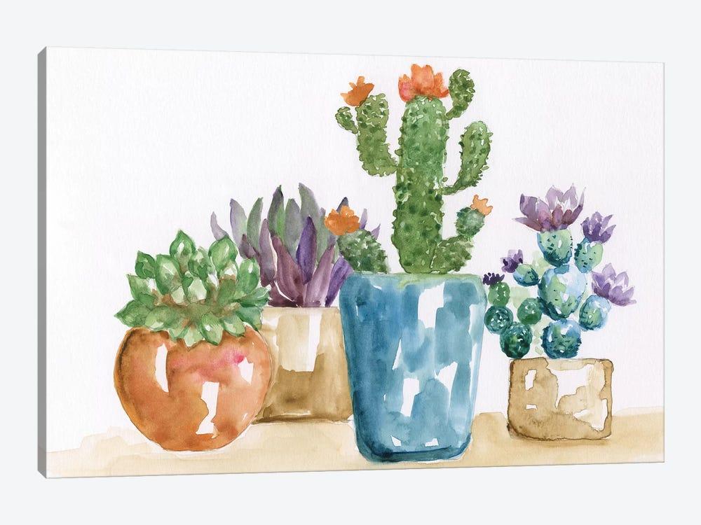 Summer Succulents II by Nan 1-piece Canvas Art