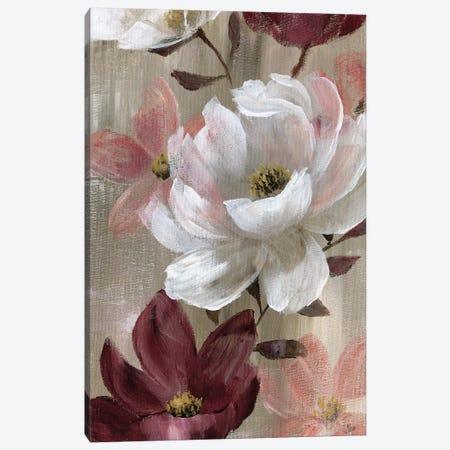 Transient Garden Reds II Canvas Print #NAN362} by Nan Art Print