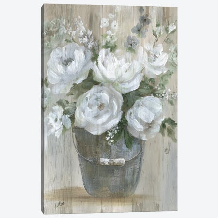 Wild Roses Canvas Print #NAN365} by Nan Canvas Art