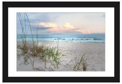 Beach Driftwood Framed Art Print