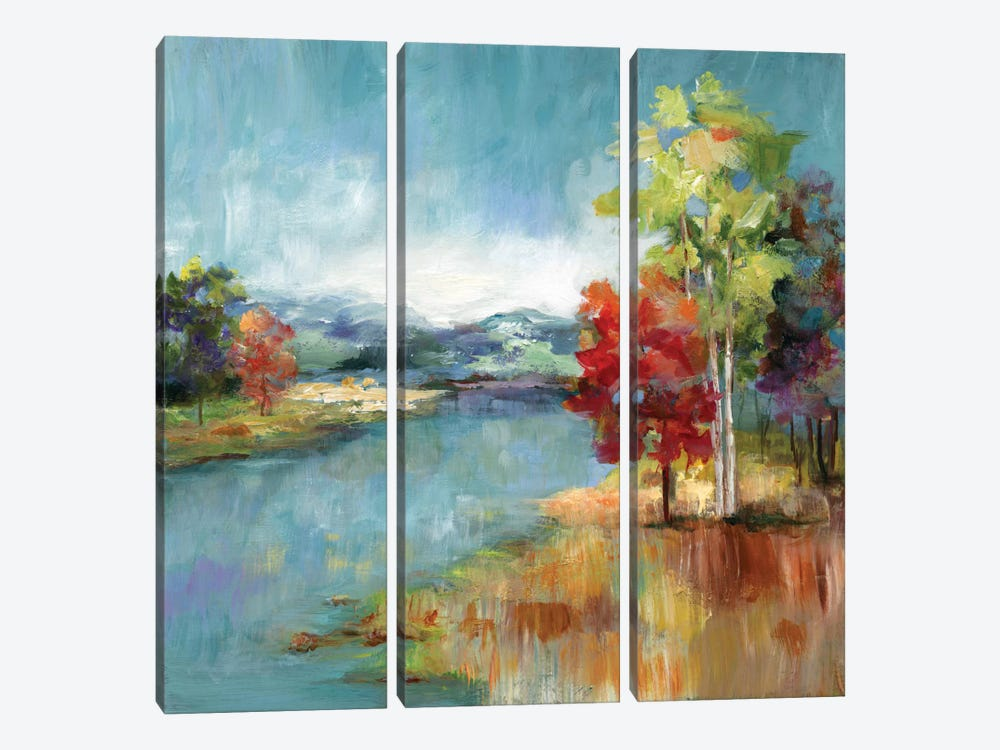 High Meadow by Nan 3-piece Canvas Print