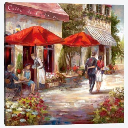 Café Afternoon I Canvas Print #NAN377} by Nan Art Print