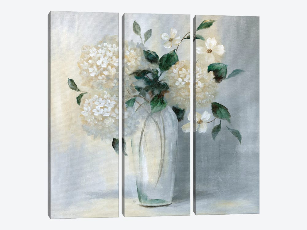 Caroline Springs Bouquet II by Nan 3-piece Canvas Artwork