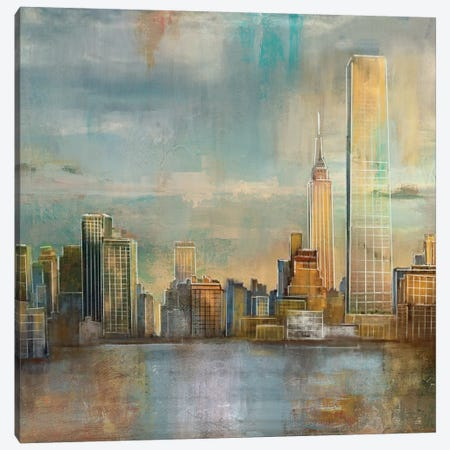 City Skyline Canvas Print #NAN384} by Nan Canvas Art