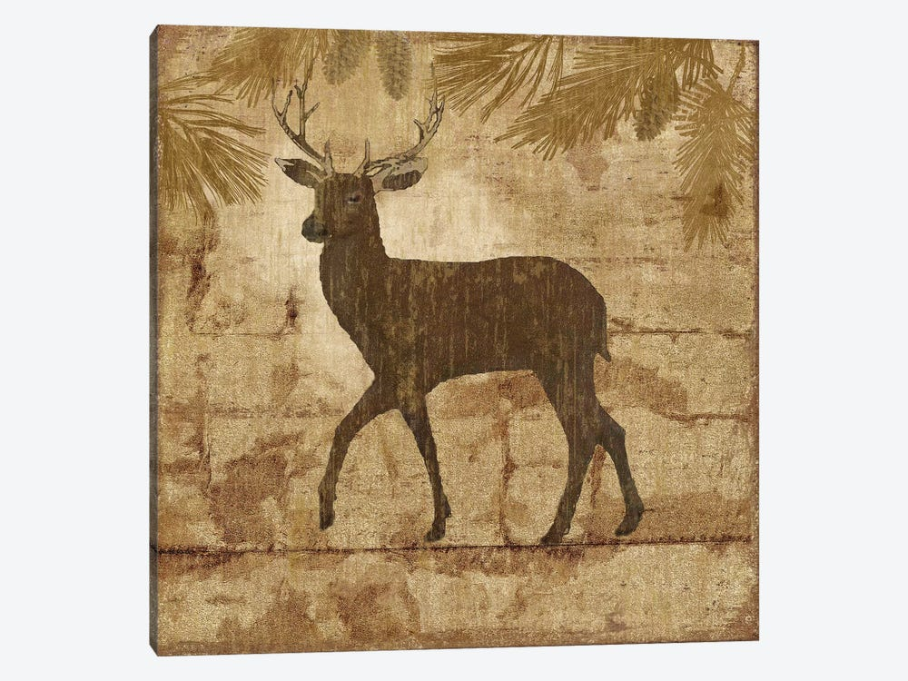 Country Deer by Nan 1-piece Canvas Print