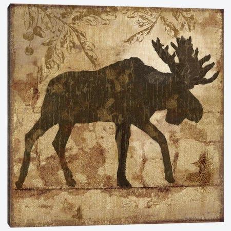 Country Moose Canvas Print #NAN386} by Nan Canvas Art