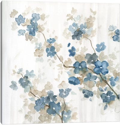 Dogwood in Blue II Canvas Art Print