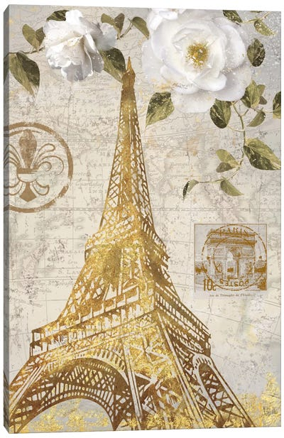 Le Jardin Eiffel Canvas Art Print