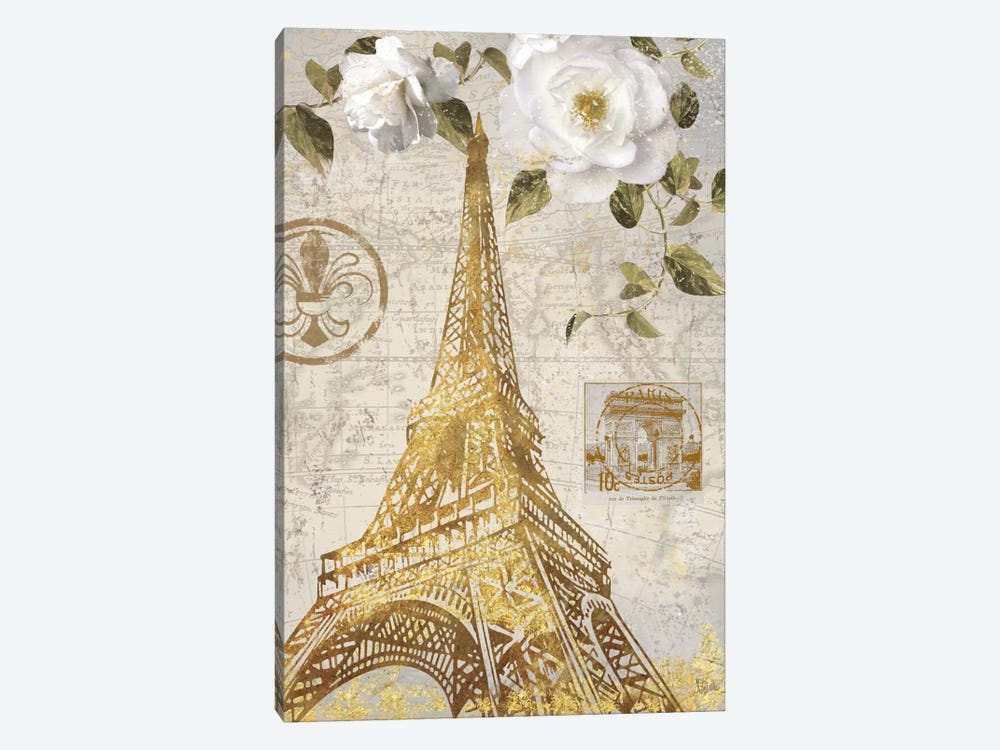 Le Jardin Eiffel by Nan 1-piece Canvas Art Print