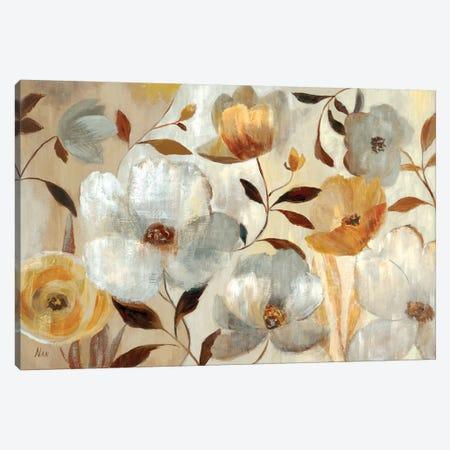 Golden Flower  Canvas Print #NAN405} by Nan Canvas Art Print