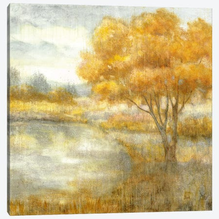 Golden Landscapes Canvas Print #NAN406} by Nan Art Print