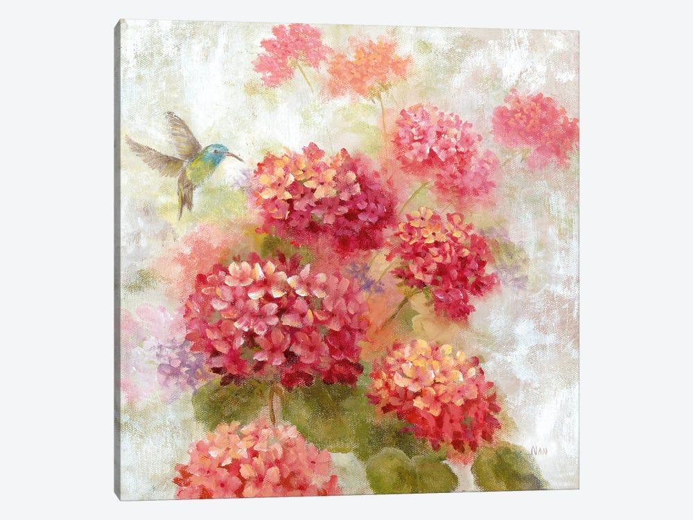 Hummingbird Garden I by Nan 1-piece Art Print