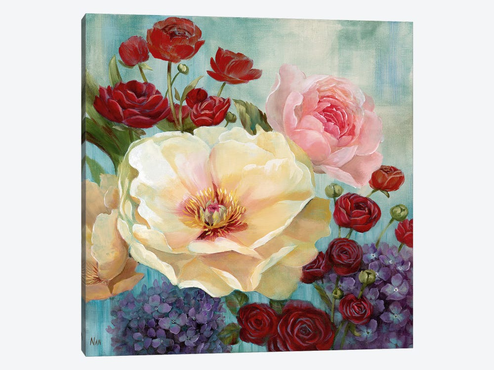 June's Celebration I by Nan 1-piece Canvas Art Print