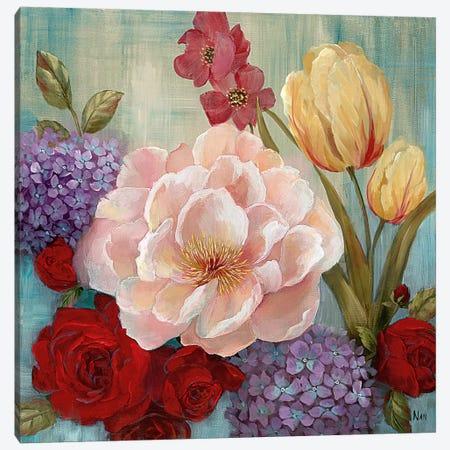 June's Celebration II 3-Piece Canvas #NAN418} by Nan Canvas Print