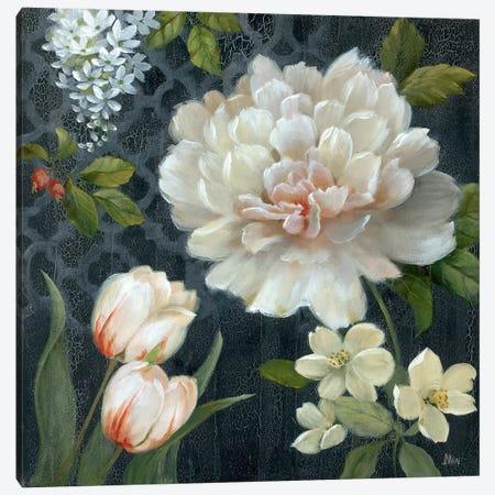 Midnight Garden II 3-Piece Canvas #NAN423} by Nan Canvas Artwork
